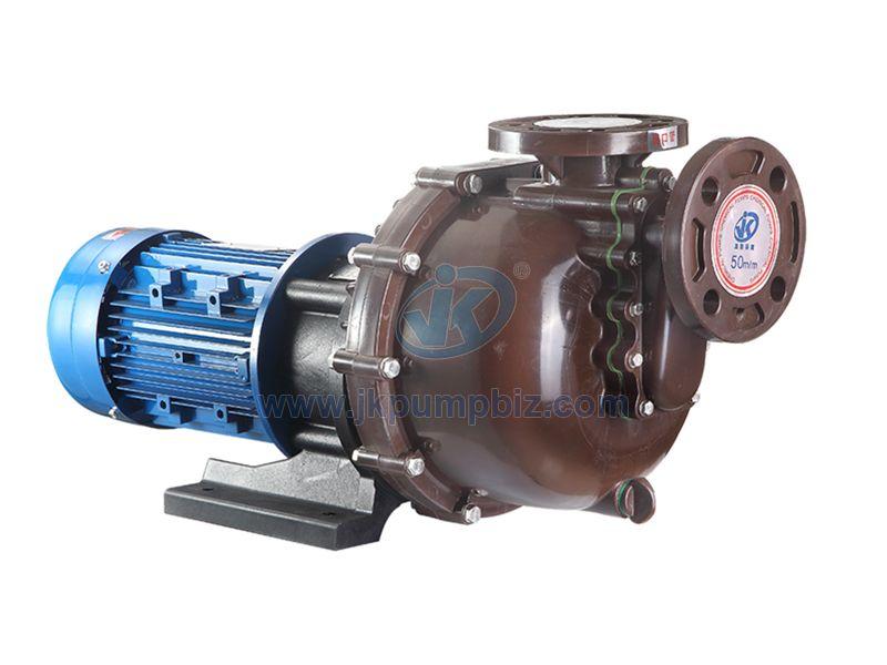 Acid&alkali resistant self priming pump-JKB