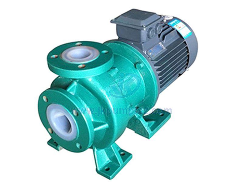 Plastic magnetic drive centrifugal pump-CQB-FJ