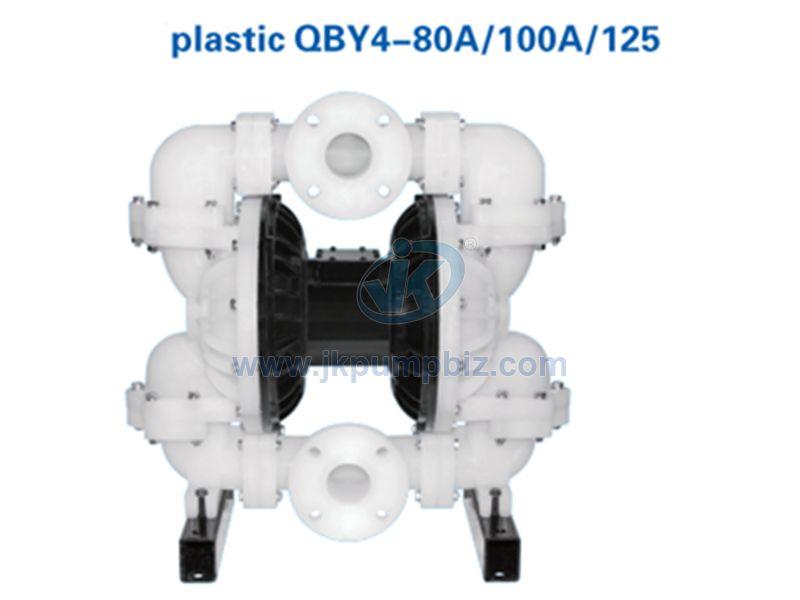 Plastic air operated diaphragm pump-QBY4-80A/100A/125