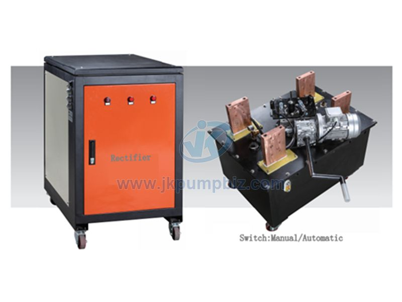 Electroplating rectifier for hard chrome plating