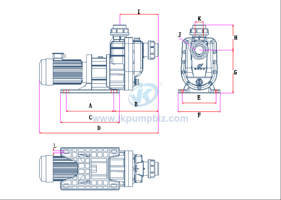 New launched run dry self priming pump-MGS